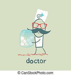 藥丸, 醫生