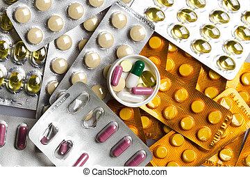 藥丸, 集合, 背景