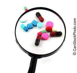 藥物處理, 指示