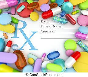 藥物, 指示
