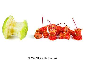 蘋果, 螃蟹, 核心