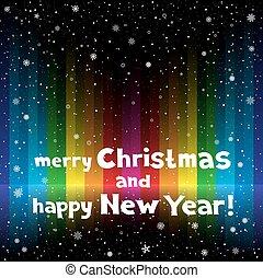 虹, クリスマス, 背景, ストライプ
