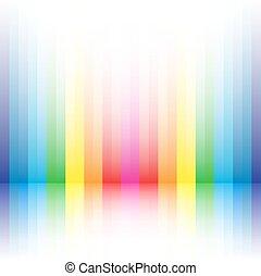 虹, ストライプ, 背景