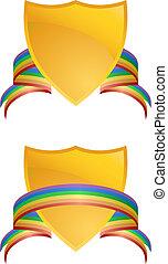 虹, パターン