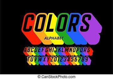 虹, 壷, 旗, 色