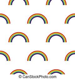 虹, 抽象的, バックグラウンド。