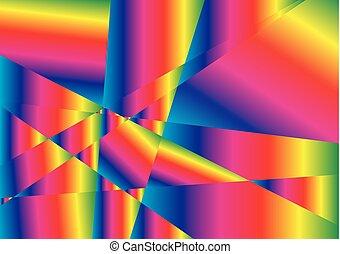虹, 抽象的, 背景