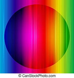 虹, 抽象的, vector., バックグラウンド。