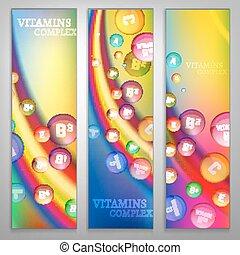 虹, 旗, ビタミン