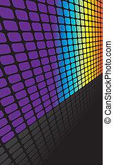 虹, 正方形, 背景