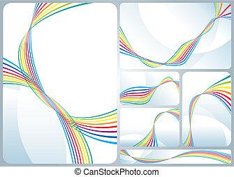 虹, 流れること
