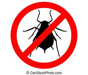 蚜蟲, 禁止, 簽署