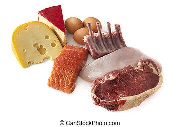 蛋白質, 食物