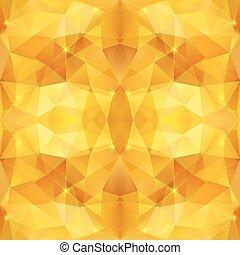 蜂蜜, 水晶, 抽象的, ベクトル, パターン