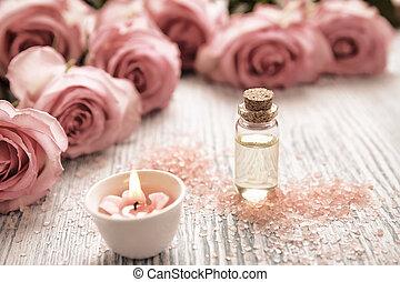 蝋燭, クローズアップ, 花