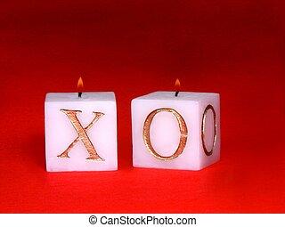 蝋燭, 愛