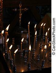 蝋燭, 教会
