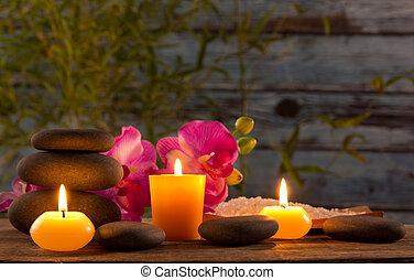 蝋燭, 生活, まだ, 芳香がする, エステ