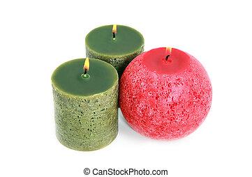 蝋燭, 白熱, 白, 3
