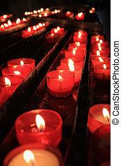蝋燭, 祈とう