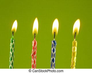 蝋燭, birthday