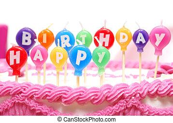蝋燭, birthday, 幸せ