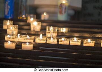 蝋燭, devotional
