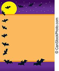 蝙蝠, 邊框