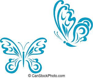 蝴蝶, 刺花样