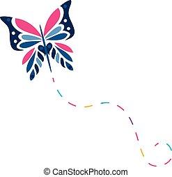 蝴蝶, 矢量,  6