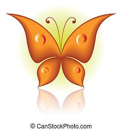 蝶, ただ
