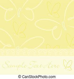 蝶, カード