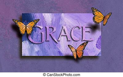 蝶, グレイス, 無料で