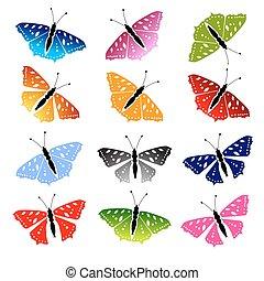 蝶, デザインを設定しなさい, あなたの