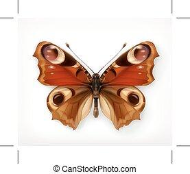 蝶, ベクトル, アイコン