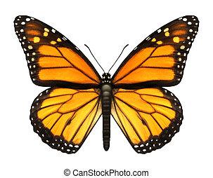 蝶, 君主