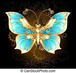 蝶, 機械