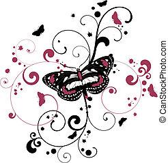 蝶, 背景