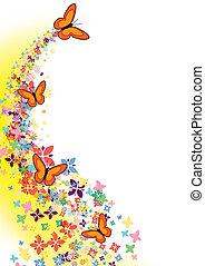 蝶, 飛行
