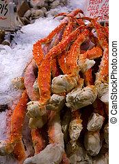 螃蟹, 腿