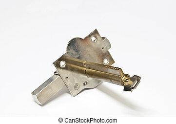螺栓, 以及, 鑰匙