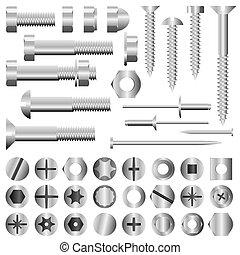 螺母和螺栓