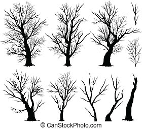蠕動, 樹
