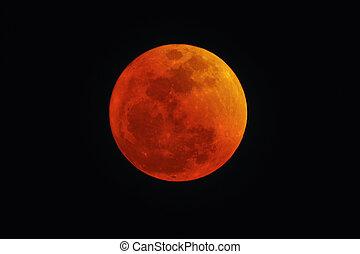 血液, 紅色, 月亮