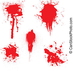 血, したたり
