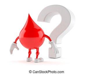血, シンボル, 特徴, 質問, 見る, 印