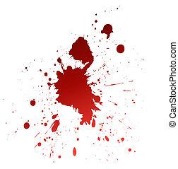 血, splat