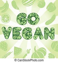 行きなさい, ポスター, vegan