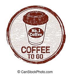 行きなさい, 切手, コーヒー