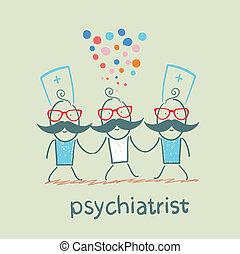 行きなさい, 狂気, 患者, 精神科医